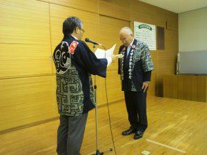 半田市中の祭人たちから義援金総額8,468,725円があつまりました。半田市長を通じて日本赤十字社に寄付されました。