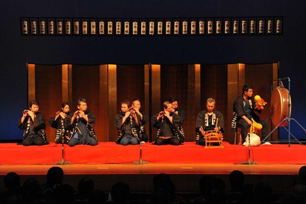 成岩南組「歌神楽、早神楽、大神楽、ヒャクド神楽」