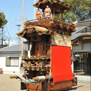 浅井山宮本車(あさいやま みやもとぐるま) 右斜め前