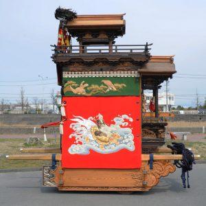 東組山王車(ひがしぐみ さんのうしゃ) 左横