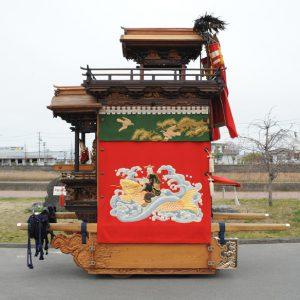東組山王車(ひがしぐみ さんのうしゃ) 右横