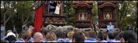 板山神社、八幡神社祭礼