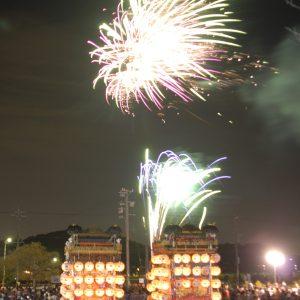 南吉祭(なんきちさい)の花火