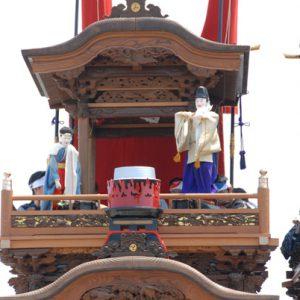亀崎東組宮本車「湯取り神事」