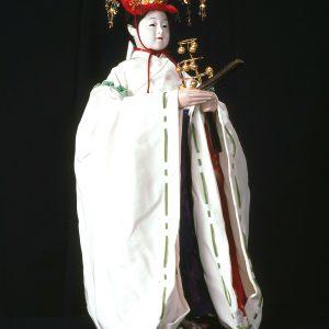 西成岩彦洲組日之出車「巫女の舞」