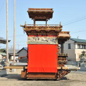西山神楽車(にしやま かぐらぐるま) 右横