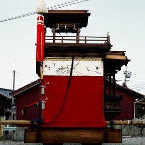 大湯組花王車(おおゆぐみ かおうしゃ) 左横