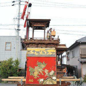 田中組神楽車(たなかぐみ かぐらぐるま) 左横