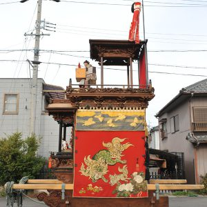 田中組神楽車(たなかぐみ かぐらぐるま) 右横