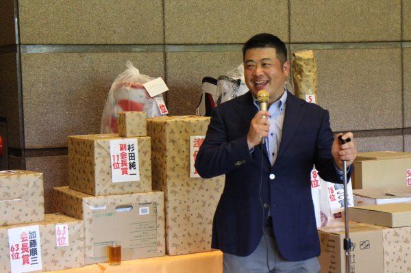 乾杯 石川大介副会長