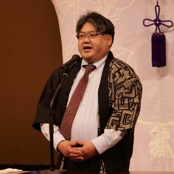 愛知県教育委員会 生涯学習課文化財保護室 高橋亮太様 挨拶